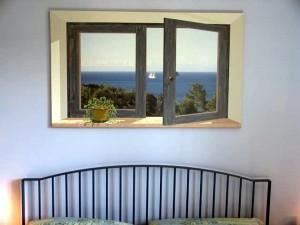 Trompe l'oeil eseguito a Napoli - abitazione privata