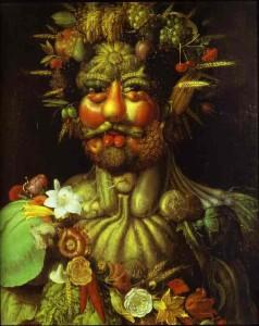 Arcimboldo - Ritratto di Rodolfo II d'Asburgo come Vertunno